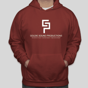 Goldie Sound Productions Garnet Hoodie